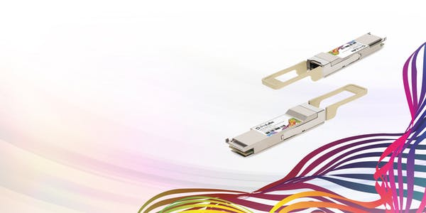 Increase core network capacity with QSFP28 100G SR OTU4 128G fiber channel transceivers